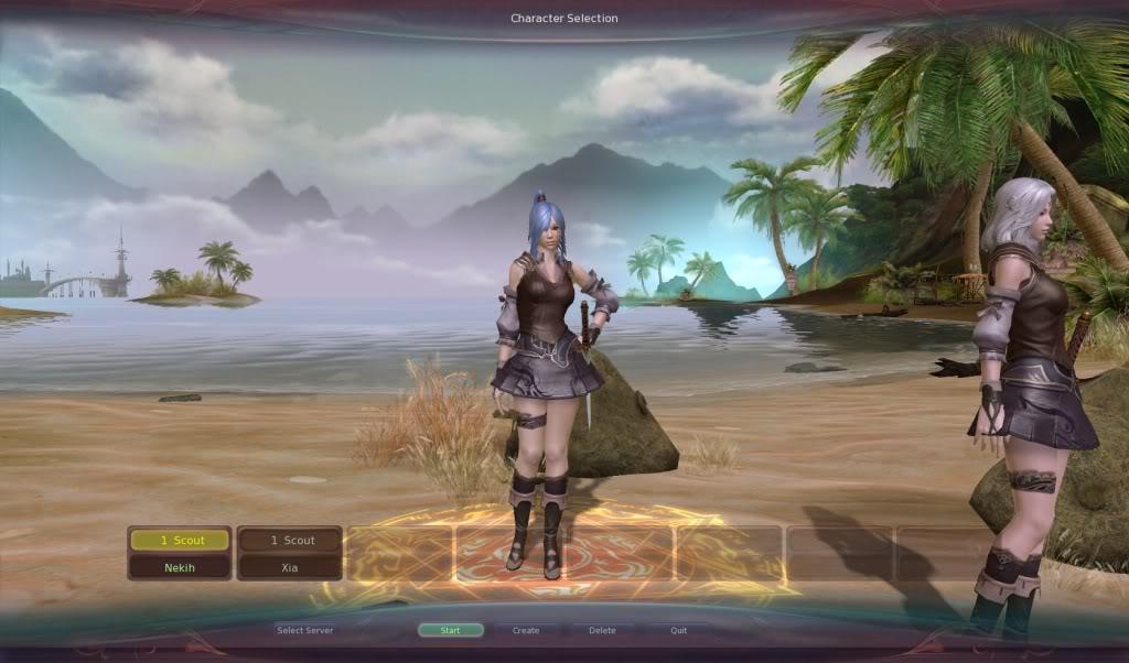 Character Pre-creation Screenshots Aion0003