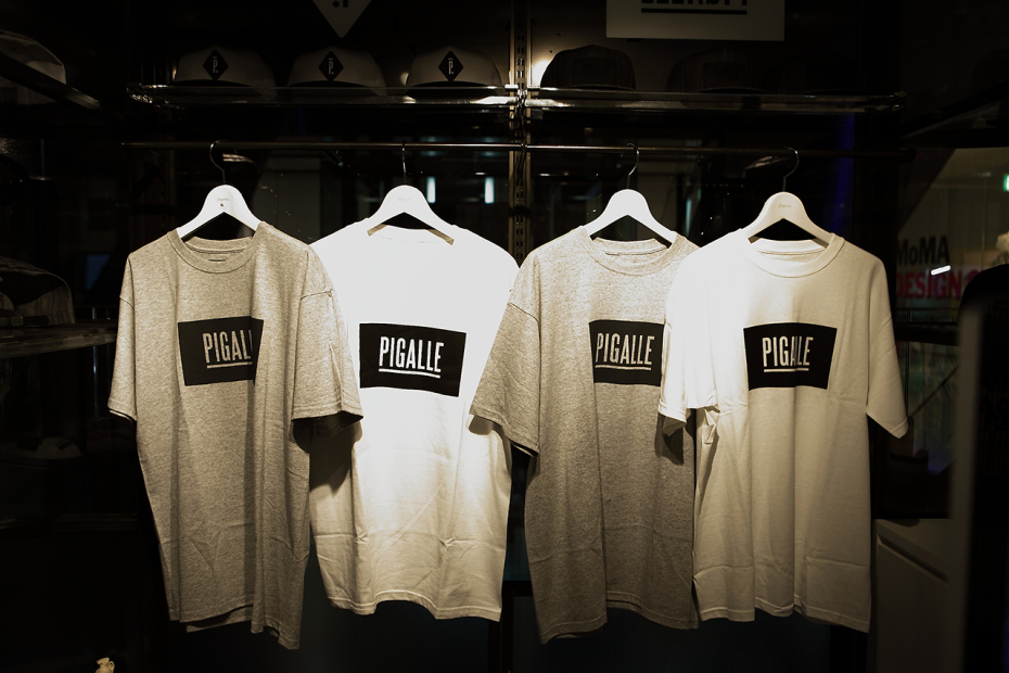 Les t shirts à message Pigalle-pop-up-store-at-gyre-omotesando-tokyo-opening-4_zpsecae0b2a