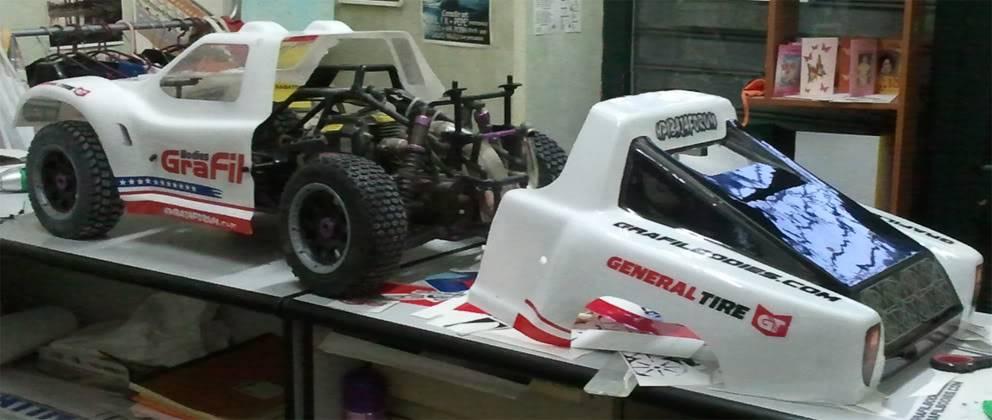 Nueva carrocería GraFil para 5SC y 5T... en dos partes Front3