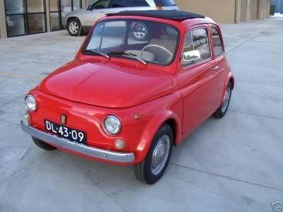 FIAT 500 F.  08ARG282517622A