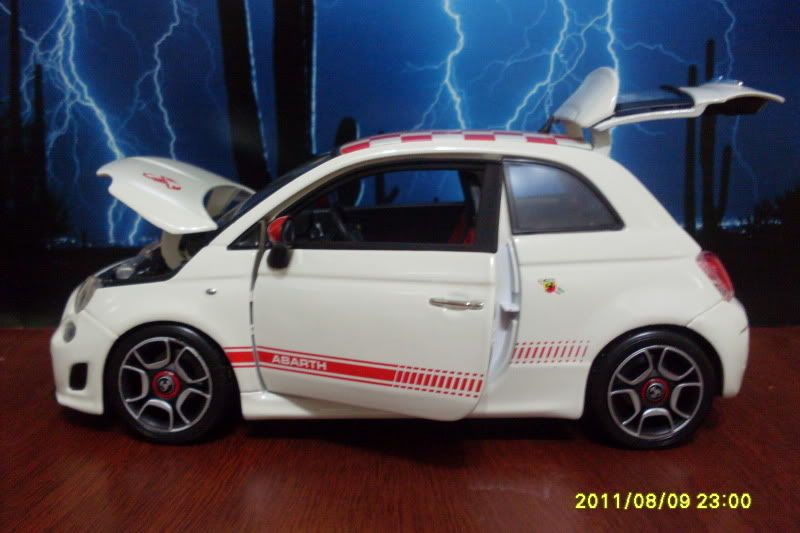 FIAT 500 ABATH SDC18550