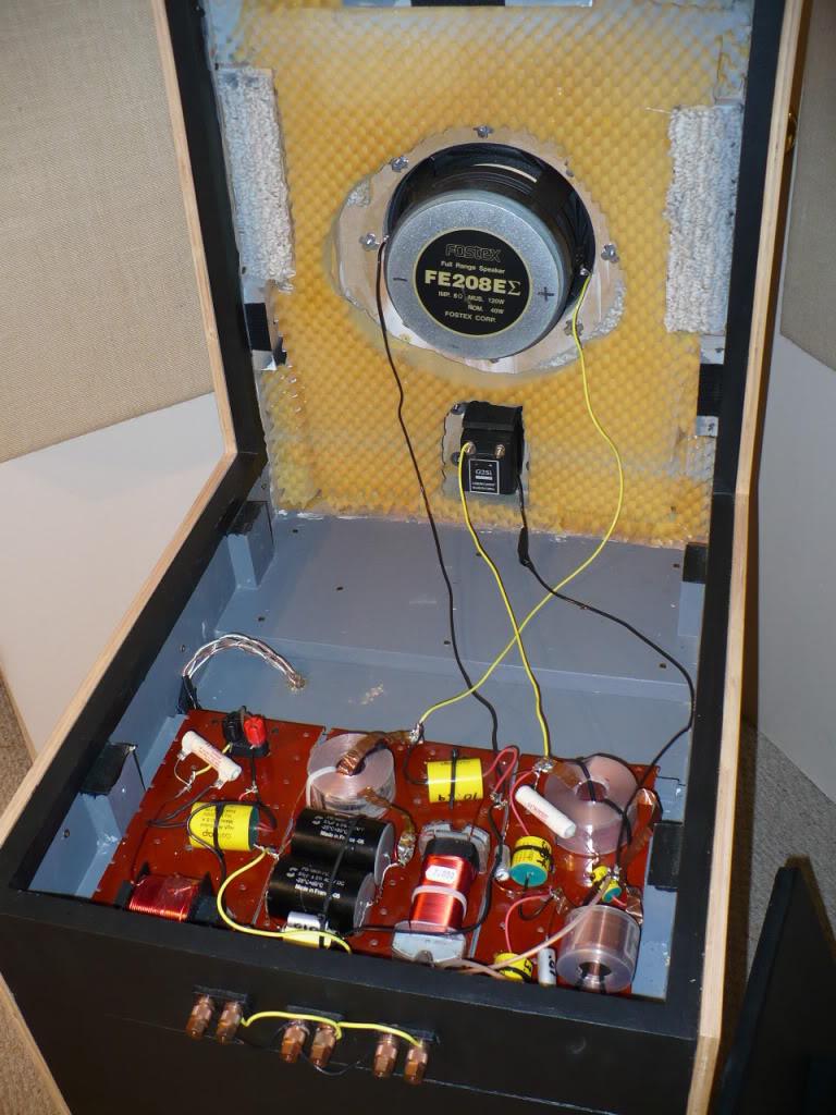 Q-tron PA-12 OTL Tube Amplifier (Stereo 2 x 25W) con transformadores toroidales. Basszilla Platinum Edition MK2, DIY. P1010141