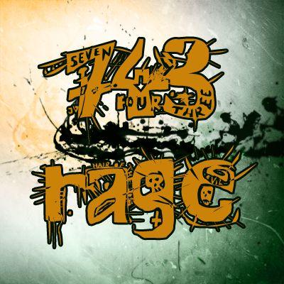 743rage's Photoshop Grunge-Experiment-Ding x3 Rage-avatar