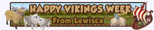 Lewisca's Art Emporium Happy-vikings-week