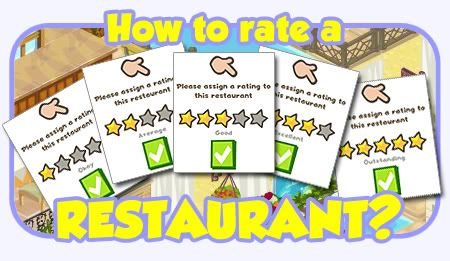 How many stars to give a restaurant? Rate-a-restaurant