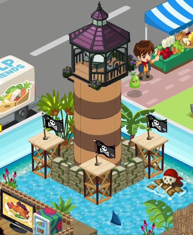 Doubloon Lagoon Getaway Watch-tower