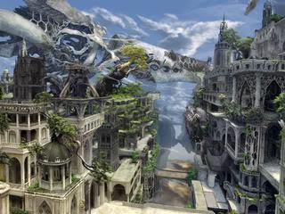 The Capital City of Orian Elderace
