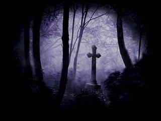 Drethos, Sea of Graves Cemetery-grave-yard-dark