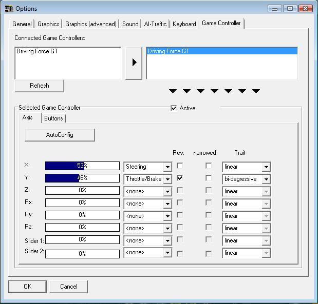 OMSI - Logitech Driving Force GT Setup Guide. Drivingforce