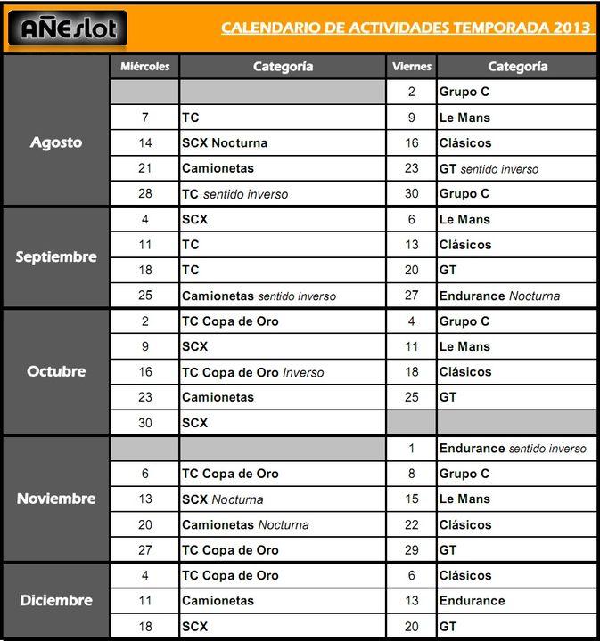 CALENDARIO TEMPORADA 2013 TEMPORADACalendarioSegundoSemestre_zps45f87bda