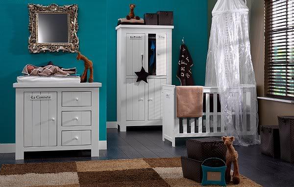 Pour vous : Idée de déco chambre bébé Baby-blauw