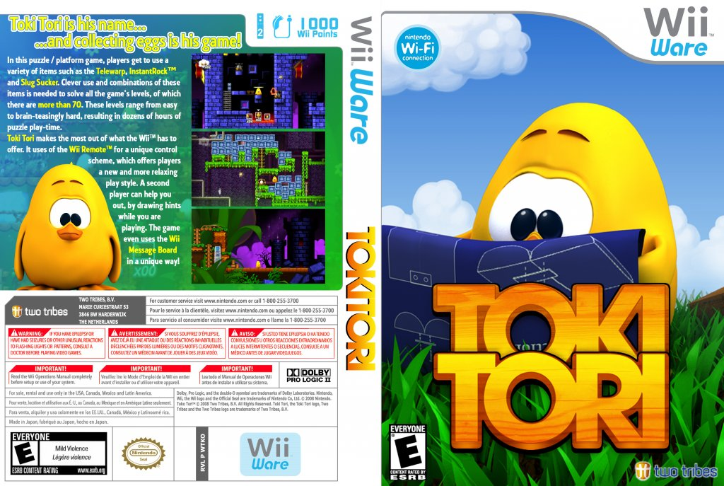 WiiWare Reviews Toki_Tori_WiiWare_DVD_NTSC_Custom_f2_zps09b7f6f5