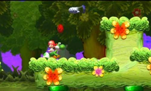 New Yoshi's Island Game Announced For The 3DS! Yoshis-Island-3DS-3-500x303_zps1192f086
