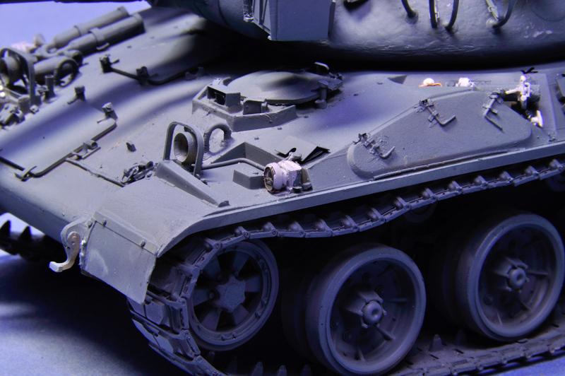 Opération Daguet 1991 [AMX-30, Heller - 1/35] - Page 2 Amx-30-rectifier5