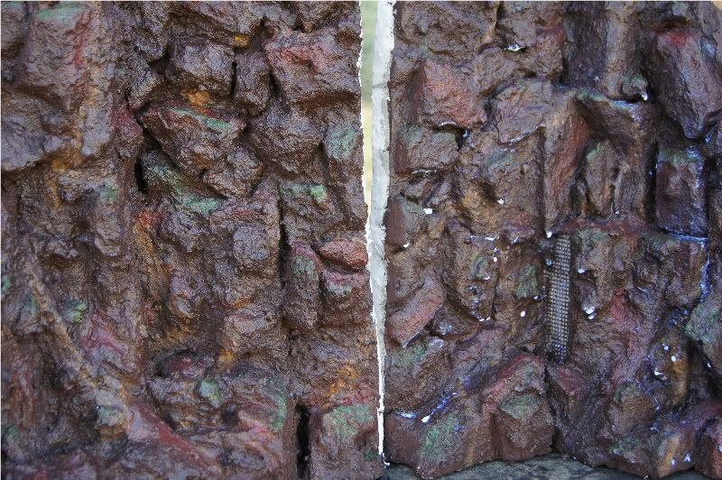 Custom background, walls & rocks BG5thJan2012a