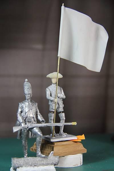 Grenadier 18th Foot  et officier porte drapeau (ensign)- Enfin terminé ! PHOTOS FINALES IMG_0433_zps2c0667fd