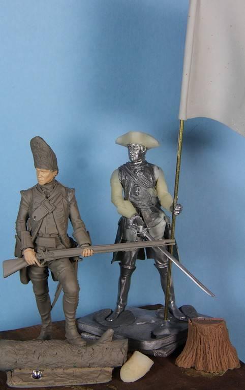 Grenadier 18th Foot  et officier porte drapeau (ensign)- Enfin terminé ! PHOTOS FINALES IMG_1644_zps8067ae89