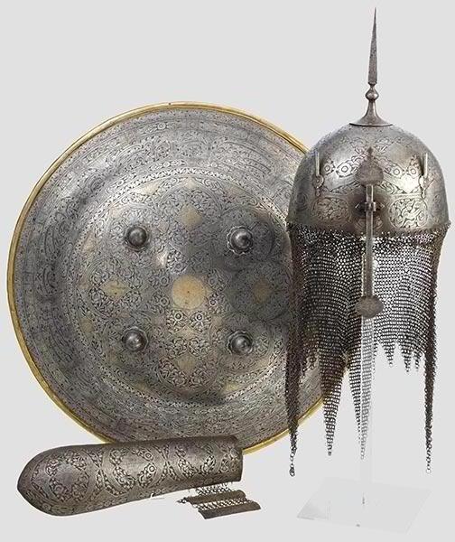 Guerrier Moghol 17-18ème siècle 75mm - Terminé 51966_zps4cb7996a