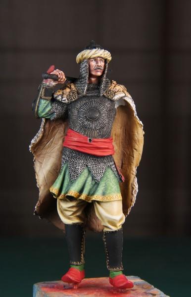 Guerrier Moghol 17-18ème siècle 75mm - Terminé IMG_9542_zps4305ddfc