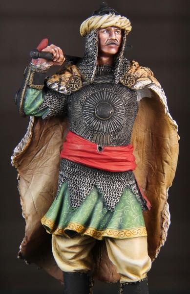 Guerrier Moghol 17-18ème siècle 75mm - Terminé IMG_9543_zpsa60286de