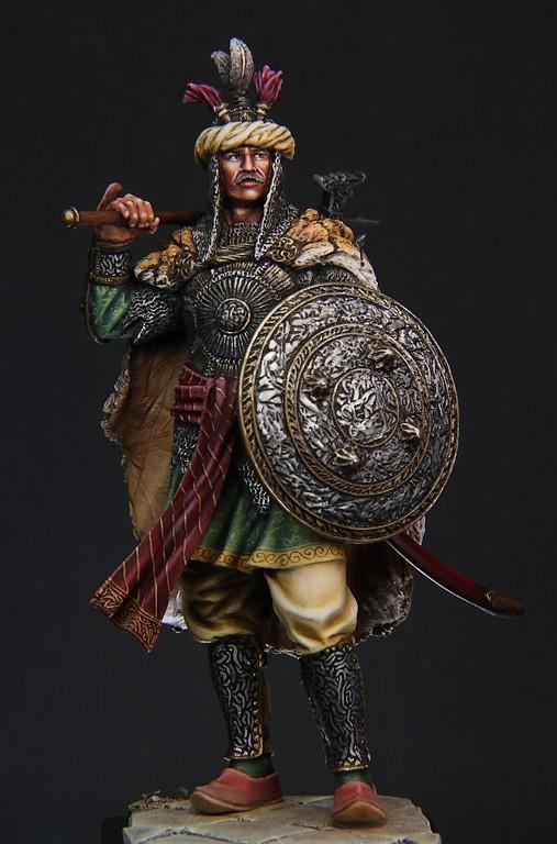 Guerrier Moghol 17-18ème siècle 75mm - Terminé IMG_9636_zpsebcf9d1d