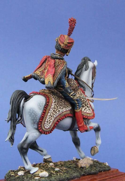 Officier des Chasseurs à cheval de la Garde Impériale- 90 mm Andréa IMG_5619
