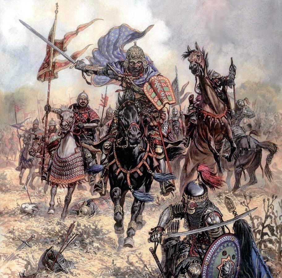 Bataille de Kulikovo  1380 -par Marco - Ca y est ! les Photos finales... 1380kulikovo_zps0765b964