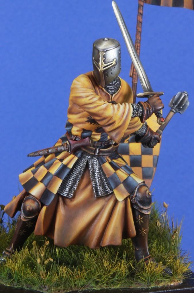 Joute à pied - Chevalier Siennois - première moitié du XIV Siècle par Marco 75mm IMG_5710_zpsmkrlwric