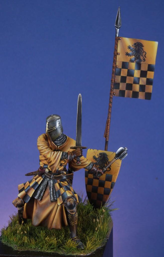 Joute à pied - Chevalier Siennois - première moitié du XIV Siècle par Marco 75mm IMG_5745_zpslmuz6xia