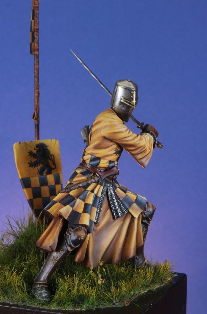 Joute à pied - Chevalier Siennois - première moitié du XIV Siècle par Marco 75mm IMG_5750_zpsc9yk5z6f