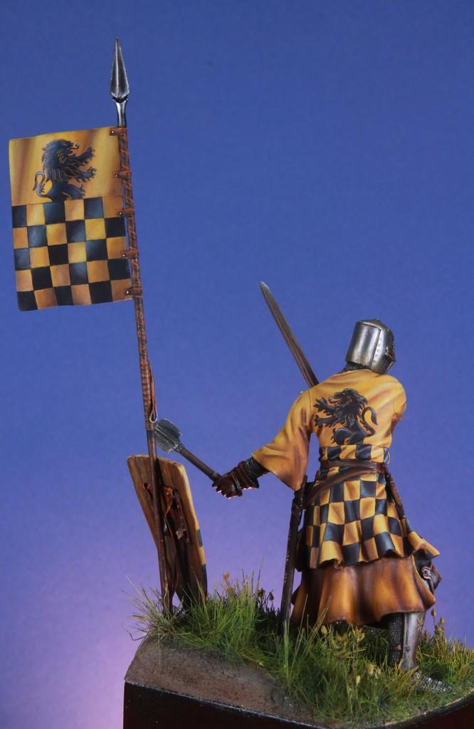 Joute à pied - Chevalier Siennois - première moitié du XIV Siècle par Marco 75mm IMG_5751_zpsrqrc3yxn