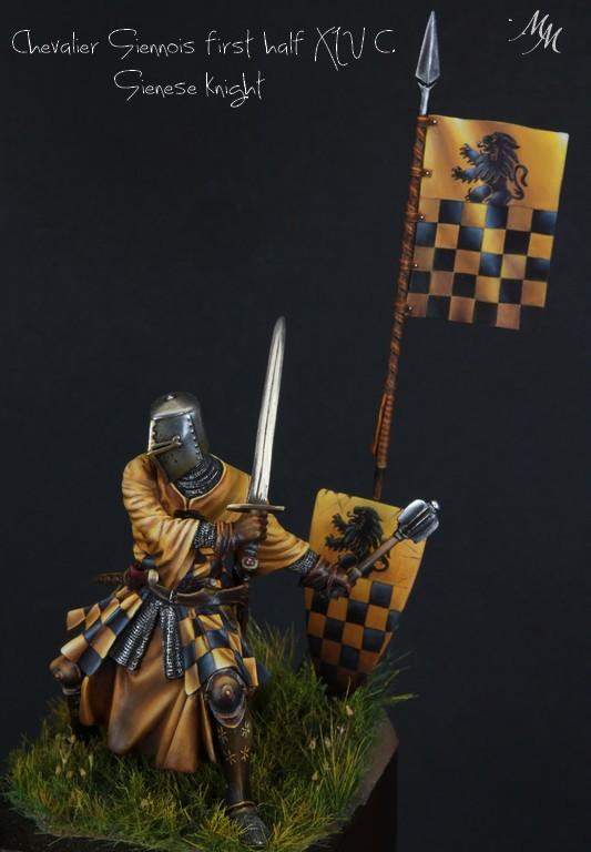Joute à pied - Chevalier Siennois - première moitié du XIV Siècle par Marco 75mm IMG_6279_zpsnkjqacx5