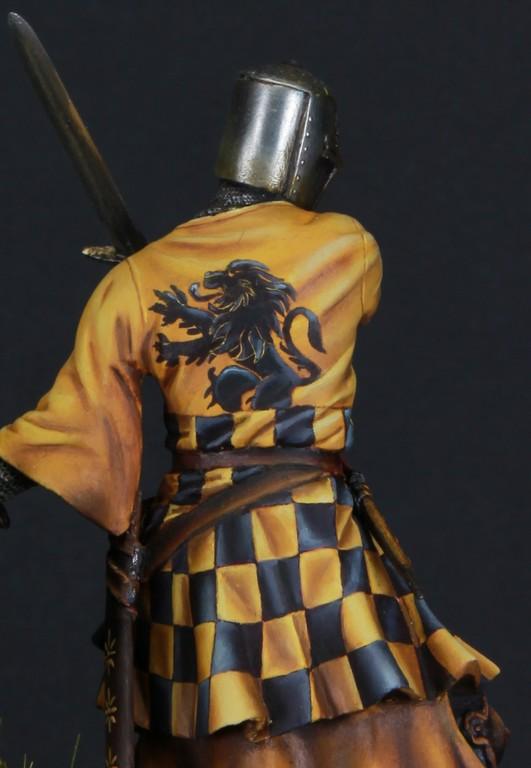 Joute à pied - Chevalier Siennois - première moitié du XIV Siècle par Marco 75mm IMG_6281_zpslocwltxg