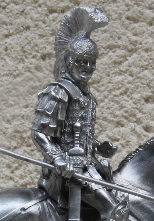 CAVALIER ROMAIN - DECURION - 3ème siècle après JC- TERMINE CopiedeIMG_8462