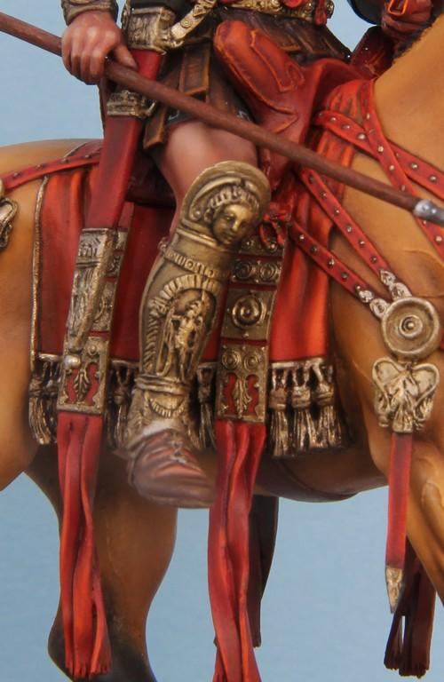 CAVALIER ROMAIN - DECURION - 3ème siècle après JC- TERMINE - Page 3 IMG_8744
