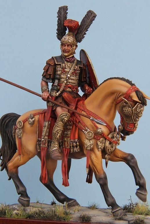 CAVALIER ROMAIN - DECURION - 3ème siècle après JC- TERMINE - Page 3 IMG_8744a