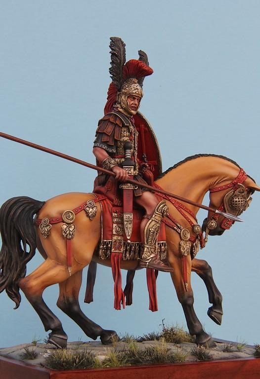 CAVALIER ROMAIN - DECURION - 3ème siècle après JC- TERMINE - Page 3 IMG_8750