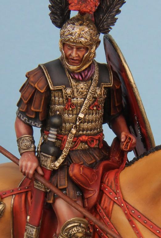CAVALIER ROMAIN - DECURION - 3ème siècle après JC- TERMINE - Page 3 IMG_8752