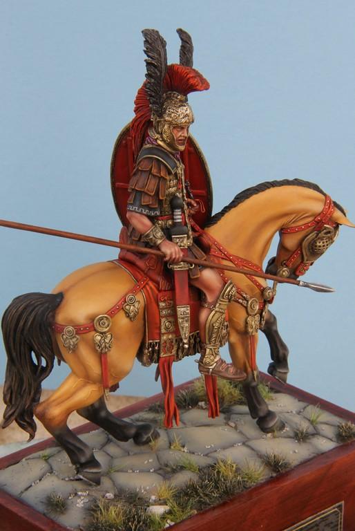 CAVALIER ROMAIN - DECURION - 3ème siècle après JC- TERMINE - Page 3 IMG_8753