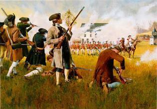 Guerre d'indépendance Américaine 1775 - Minuteman 75mm les photos... Colored_battle_of_landc_zps347b8f87