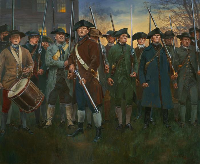 Guerre d'indépendance Américaine 1775 - Minuteman 75mm les photos... Lexingtoncommon_zps0d6ecbde