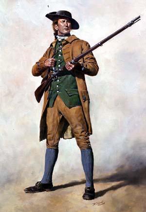 Guerre d'indépendance Américaine 1775 - Minuteman 75mm les photos... Minuteman1_zps51330a72