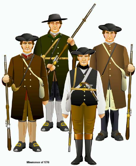 Guerre d'indépendance Américaine 1775 - Minuteman 75mm les photos... Minutemen_zps153f32b1