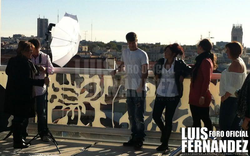 Luis Fernández en el calendario de FEAFES Andalucía Portada
