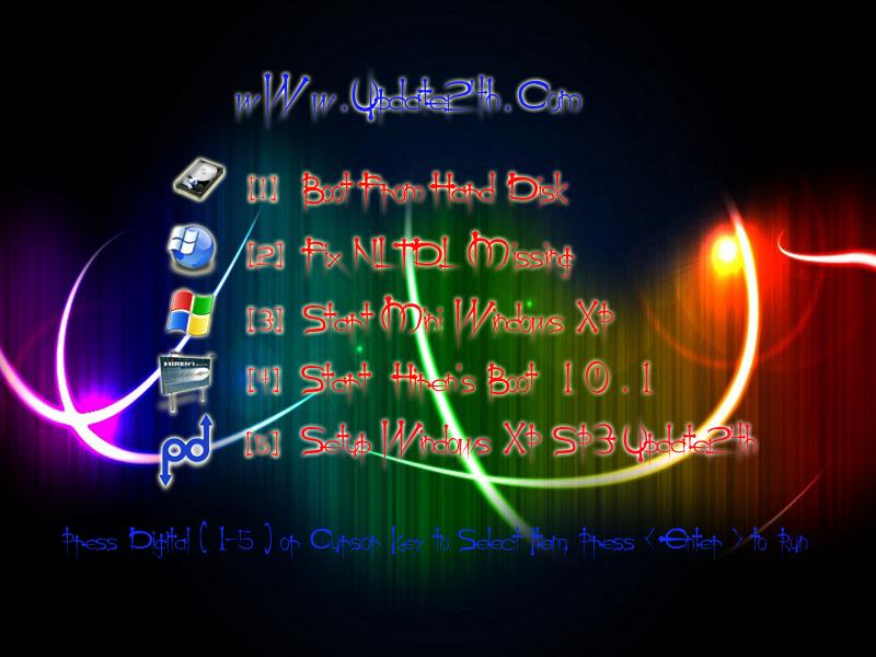 Windows Xp Professional Sp3 Of Update24h ( Auto Drivers + WPI ) สวย