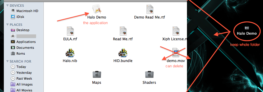 Halo Demo (MAC) (PC) Whattodo