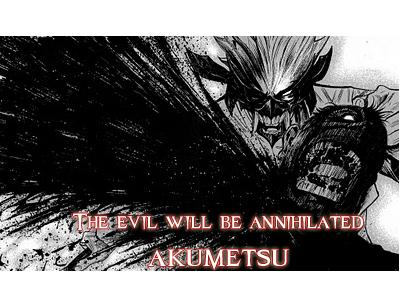 Dibujos hechos por aburrimiento (?) de varios animes(?) Akumetsu