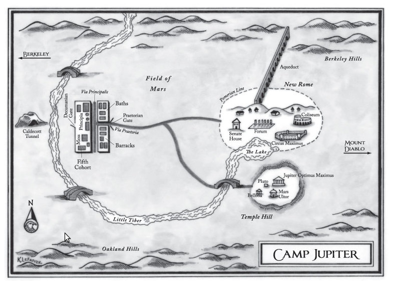 El Campamento Júpiter (Guía) Pantallazo