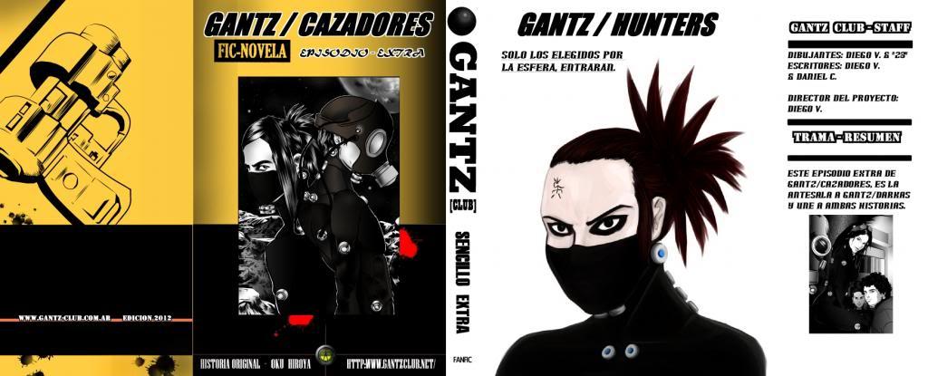 Ranobe Gantz/Hunters + Cap. Especial. PAG0A