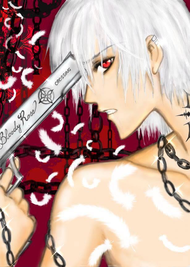 mis dibujos. Zero_from_Vampire_Knight_by